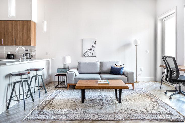 1 bedroom furnished apartment in Huxley Apartments, 1355 El Camino Real 471, Redwood City, San Francisco Bay Area, photo 1