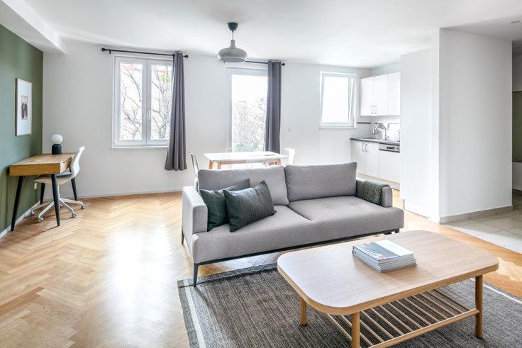 2 bedroom furnished apartment in Lassallestraße 25 6, 2nd district - Leopoldstadt, Vienna, photo 1