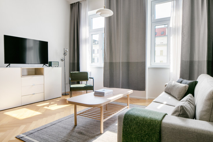 1 bedroom furnished apartment in Lassallestraße 25 7, 2nd district - Leopoldstadt, Vienna, photo 1