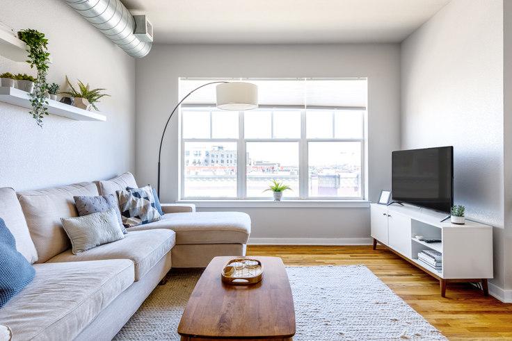 2 bedroom furnished apartment in Dakota Lofts, 1441 Central St 13, LoHi, Denver, photo 1
