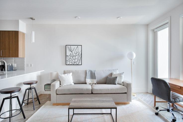1 bedroom furnished apartment in Huxley Apartments, 1355 El Camino Real 482, Redwood City, San Francisco Bay Area, photo 1