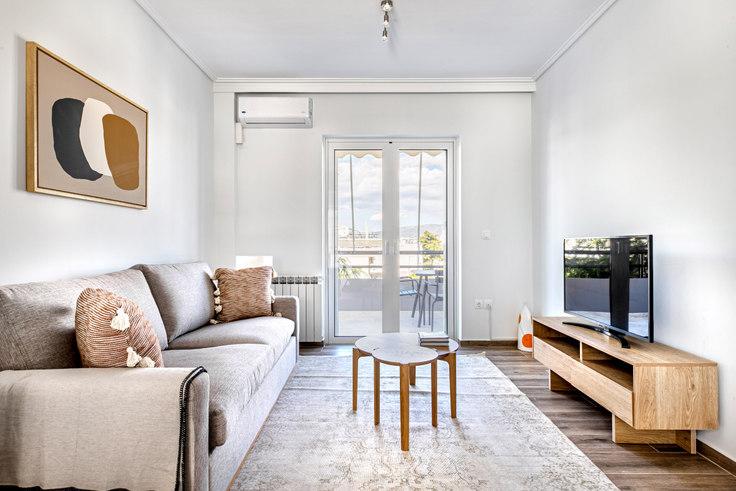 2 bedroom furnished apartment in Leof. Dimokratias VI 994, Neo Psychiko, Athens, photo 1