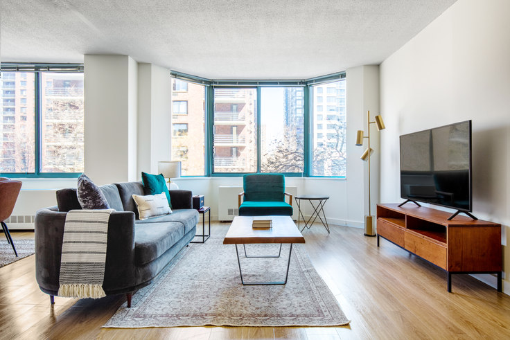 2 bedroom furnished apartment in West 96th , 750 Columbus Ave 576, Upper West Side, New York, photo 1