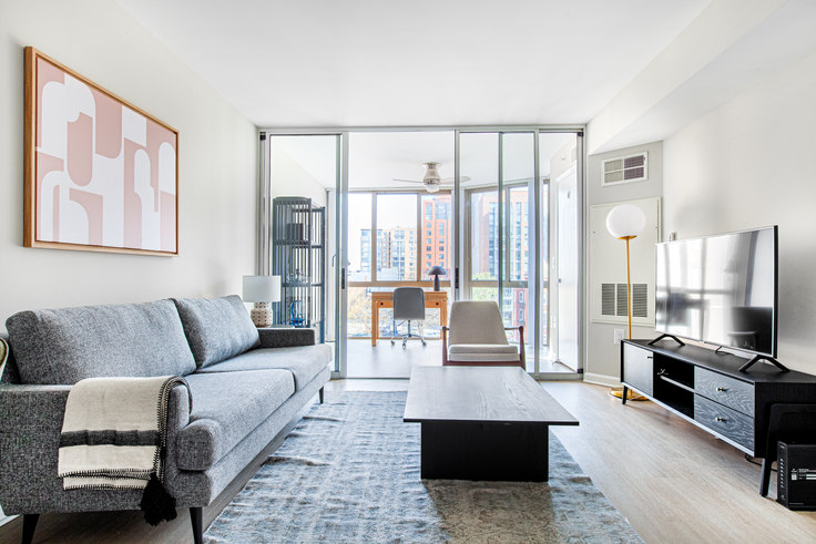 1 bedroom furnished apartment in Meridian at Gallery Place, 450 Massachusetts Avenue NW 250, Mount Vernon, Washington D.C., photo 1