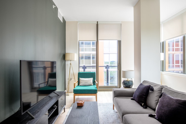 2 bedroom furnished apartment in RiverPoint, 2121 First St SW 252, Navy Yard, Washington D.C., photo 1