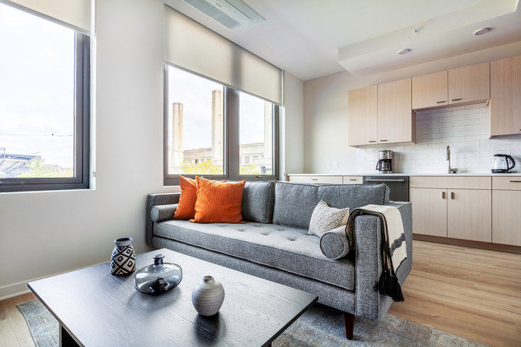 1 bedroom furnished apartment in RiverPoint, 2121 First St SW 253, Navy Yard, Washington D.C., photo 1