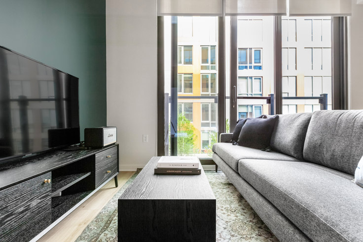 1 bedroom furnished apartment in RiverPoint, 2121 First St SW 255, Navy Yard, Washington D.C., photo 1