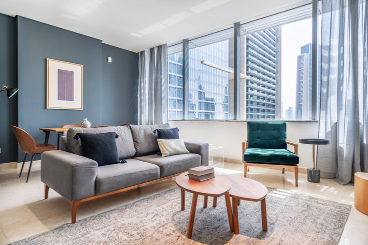 1 bedroom furnished apartment in Sky Gardens Apartment XIV 730, Sky Gardens Tower, Dubai, photo 1