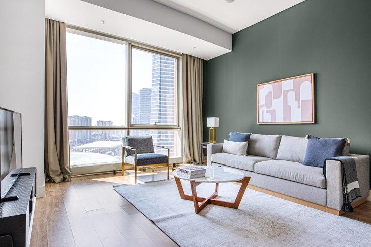 2 bedroom furnished apartment in Metropol - 641 641, Batı Ataşehir, Istanbul, photo 1