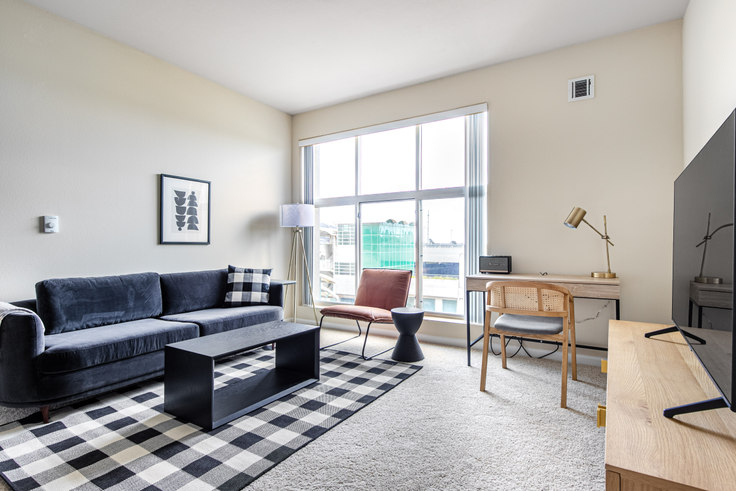 2 bedroom furnished apartment in South City Station, 100 McLellan Drive 498, South San Francisco, San Francisco Bay Area, photo 1