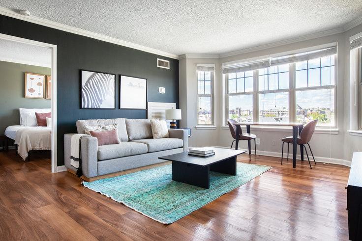 2 bedroom furnished apartment in Latrobe, 1325 15th St NW 259, Logan Circle, Washington D.C., photo 1
