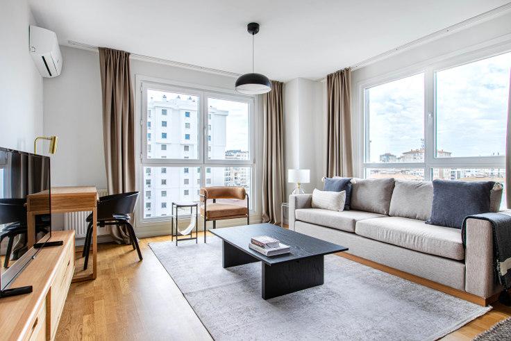 2 bedroom furnished apartment in Nur Mista Apartmanı - 649 649, Kadikoy, Istanbul, photo 1