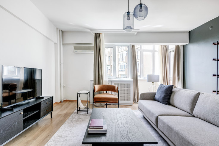 1 bedroom furnished apartment in Belediye Sitesi - 651 651, Etiler, Istanbul, photo 1