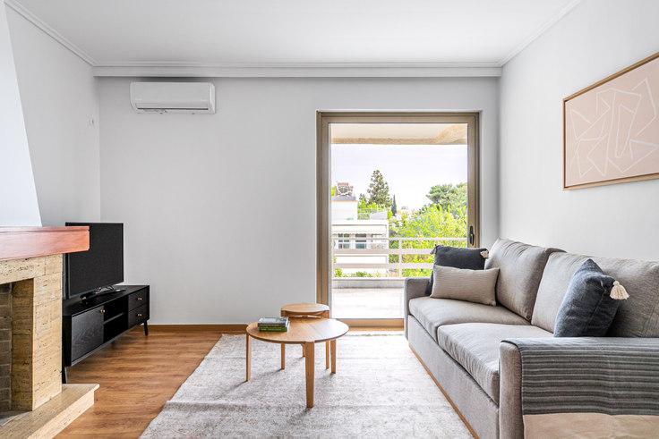 1 bedroom furnished apartment in Karaiskaki III 999, Kifisia, Athens, photo 1