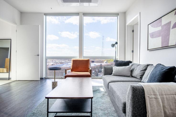 2 bedroom furnished apartment in Noca Blu,  2340 N California Ave 371, Logan Square, Chicago, photo 1