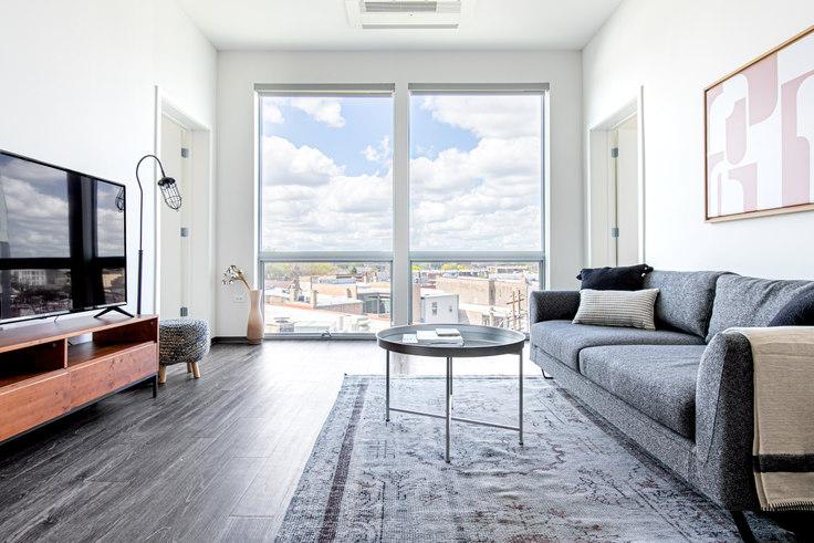 2 bedroom furnished apartment in Noca Blu,  2340 N California Ave 372, Logan Square, Chicago, photo 1