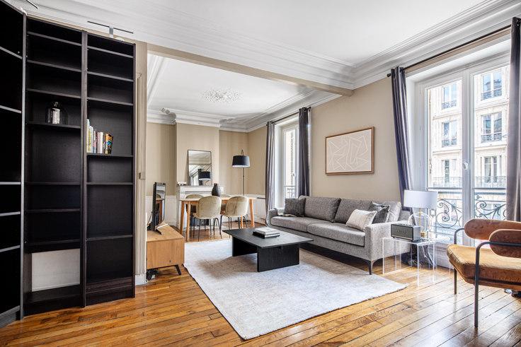 1 bedroom furnished apartment in Rue Monge 70, Quartier Latin, Paris, photo 1