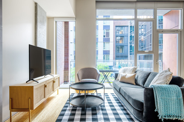 1 bedroom furnished apartment in Rollin Street Flats, 120 Westlake Ave N 109, South Lake Union, Seattle, photo 1