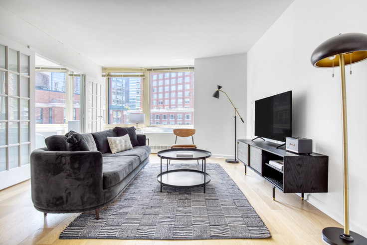 2 bedroom furnished apartment in Tribeca Park, 400 Chambers St 587, Tribeca, New York, photo 1