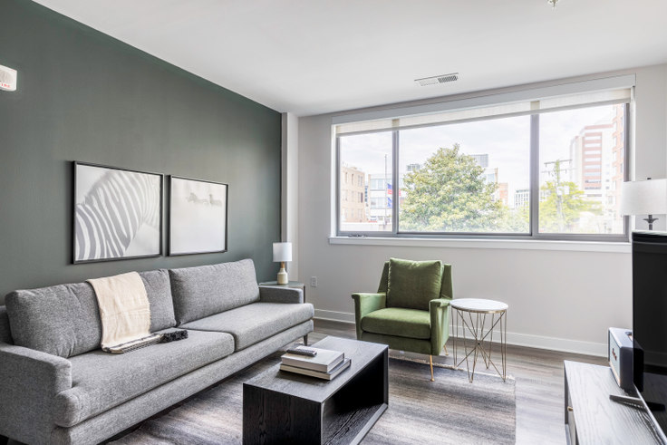 1 bedroom furnished apartment in Ten at Clarendon, 3110 10th St N  #209 261, Clarendon, Washington D.C., photo 1