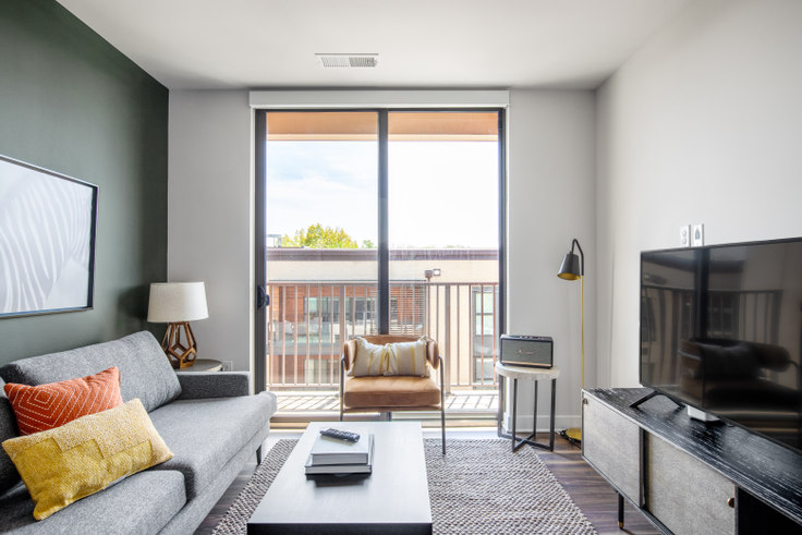 2 bedroom furnished apartment in Ten at Clarendon, 3110 10th St N #402 263, Clarendon, Washington D.C., photo 1