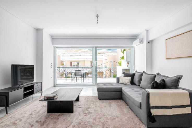 2 bedroom furnished apartment in Dimitros 1003, Palaio Faliro, Athens, photo 1