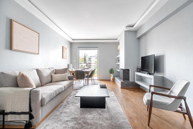 2 bedroom furnished apartment in Odos Pentelis 1004, Marousi, Athens, photo 1