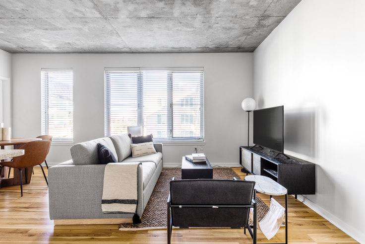 1 bedroom furnished apartment in Verve, 1490 Delgany St 15, LoDo, Denver, photo 1