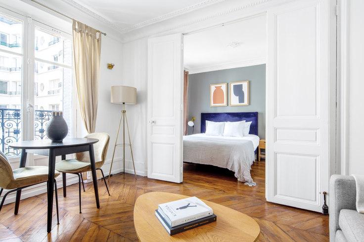 1 bedroom furnished apartment in Rue de l'Étoile 74, Arc de Triomphe, Paris, photo 1