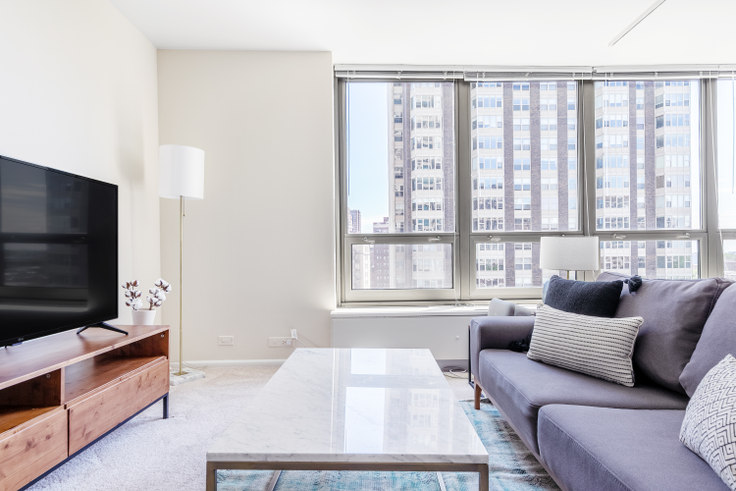 Studio furnished apartment in 3450 N Lake Shore Dr. 377, Lakeview, Chicago, photo 1