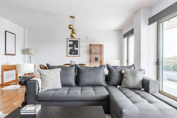 2 bedroom furnished apartment in Poseidonos Ave. II 1006, Palaio Faliro, Athens, photo 1