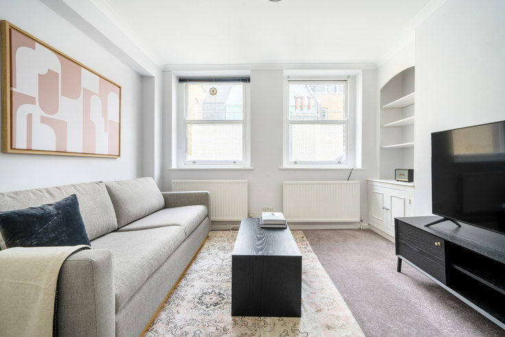 1 bedroom furnished apartment in Welbeck St 48, Marylebone, London, photo 1