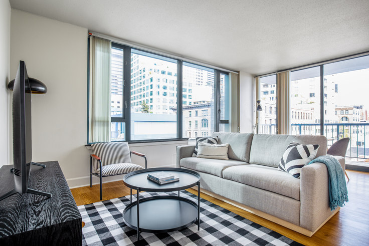 2 bedroom furnished apartment in Harbor Steps, 1221 1st Ave 110, Downtown, Seattle, photo 1