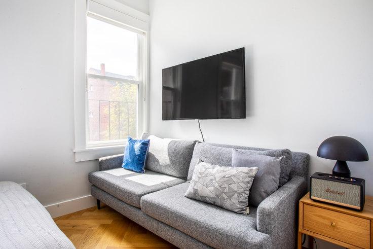 Studio furnished apartment in 461 Massachusetts Avenue 394, South End, Boston, photo 1
