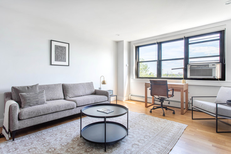 2 bedroom furnished apartment in Carson Tower, 1410 Columbia Rd 400, South Boston, Boston, photo 1