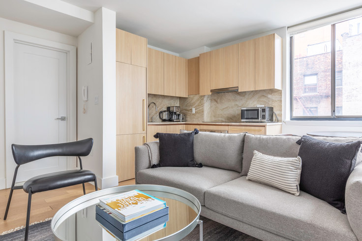 1 bedroom furnished apartment in The Grove, 250 W 19th St 601, Chelsea, New York, photo 1