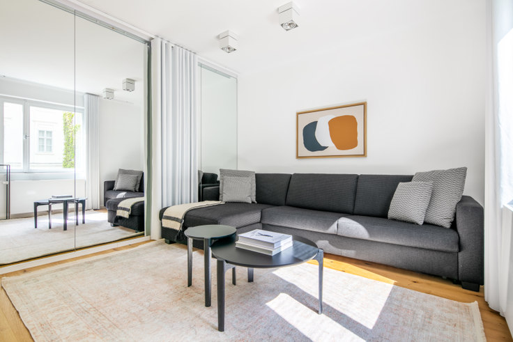 2 bedroom furnished apartment in Nikolaigasse 1 11, 1st district – Innere Stadt, Vienna, photo 1