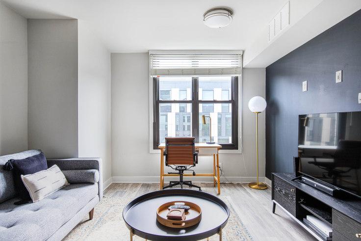 1 bedroom furnished apartment in Varsity on K, 950 24th St NW 269, Foggy Bottom, Washington D.C., photo 1