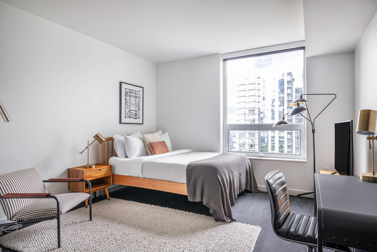 Studio furnished apartment in Arrive, 2116 4th Ave 120, Belltown, Seattle, photo 1