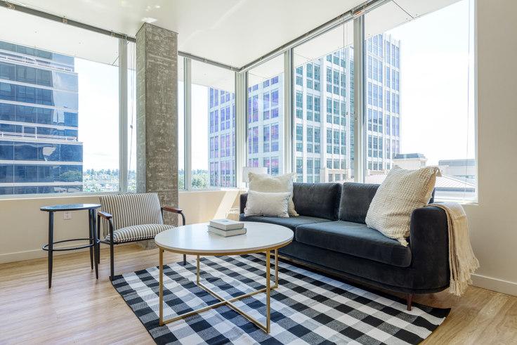2 bedroom furnished apartment in Alley 111 - Bellevue,  11011 NE 9th St 122, Bellevue, Seattle, photo 1