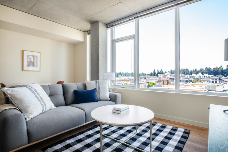 1 bedroom furnished apartment in Alley 111 - Bellevue,  11011 NE 9th St 123, Bellevue, Seattle, photo 1