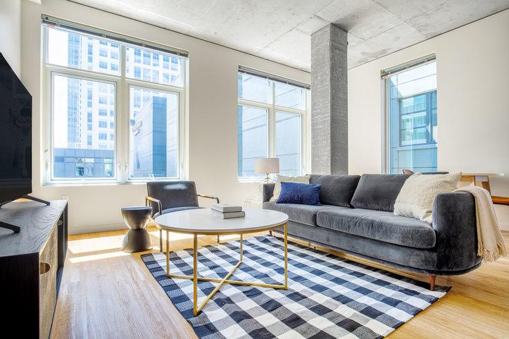 1 bedroom furnished apartment in Alley 111 - Bellevue,  11011 NE 9th St 124, Bellevue, Seattle, photo 1