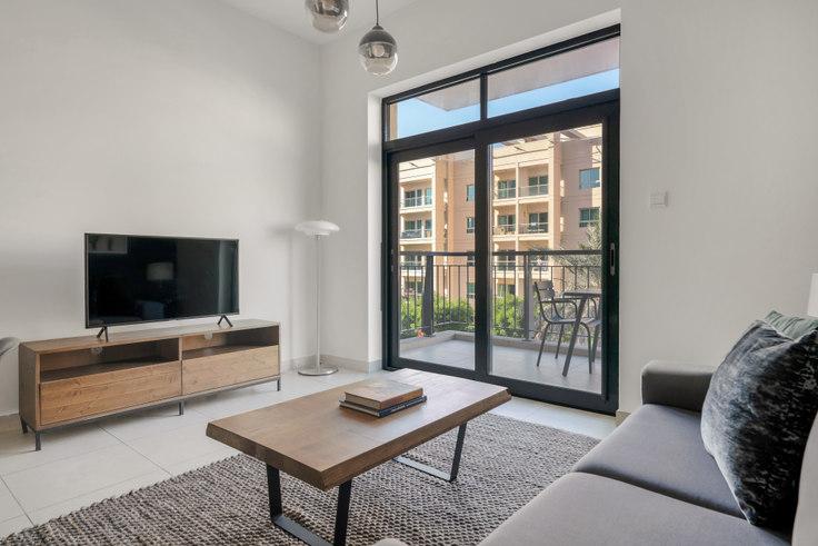 1 bedroom furnished apartment in Travo Apartment II 755, Travo Tower, Dubai, photo 1