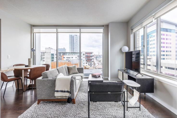 2 bedroom furnished apartment in Verve, 1490 Delgany St 16, LoDo, Denver, photo 1