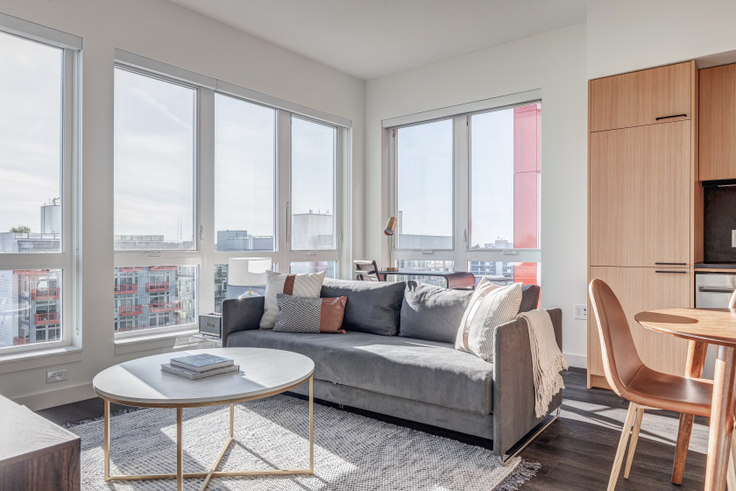 2 bedroom furnished apartment in Capitol Hill Station,  118 Broadway E 137, Capitol Hill, Seattle, photo 1