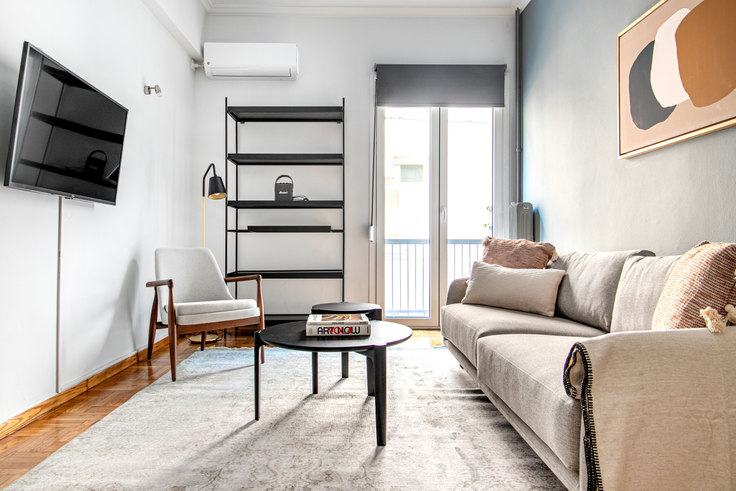 1 bedroom furnished apartment in Varnava Square II 1013, Pangrati, Athens, photo 1