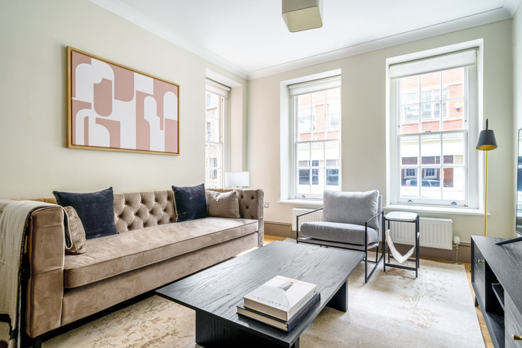 2 bedroom furnished apartment in New Cavendish St 51, Fitzrovia, London, photo 1