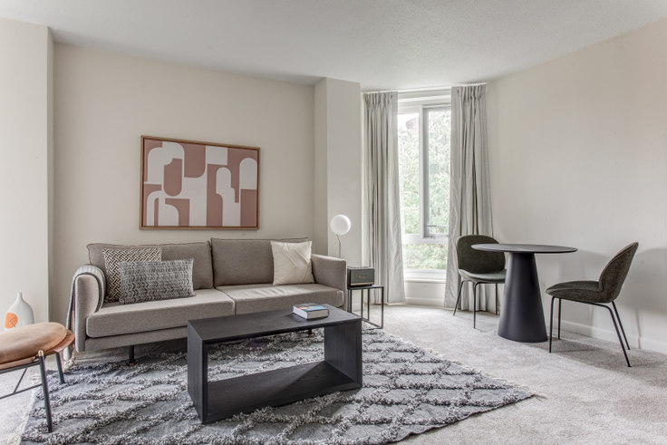2 bedroom furnished apartment in 150 Huntington Ave 406, Back Bay, Boston, photo 1