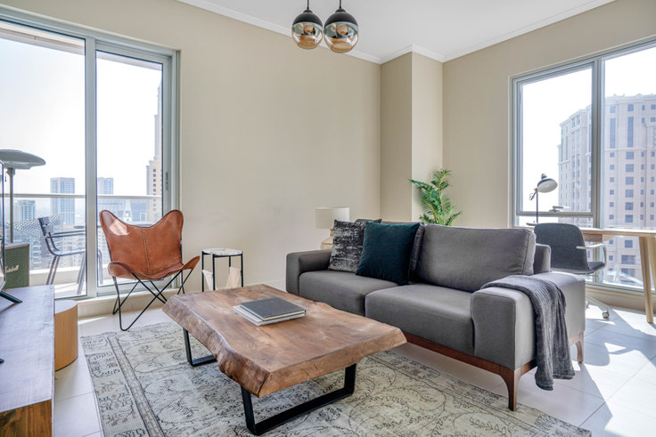 1 bedroom furnished apartment in Aurora Apartment II 758, Marina Promenade, Dubai, photo 1