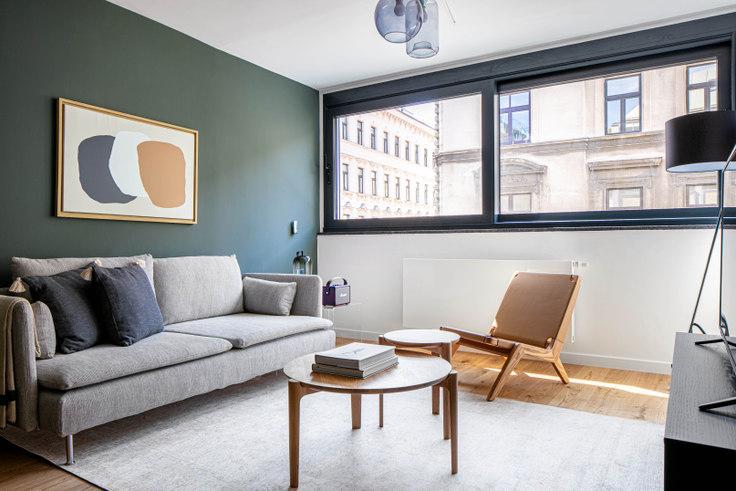 1 bedroom furnished apartment in Burggasse 112 12, 7th District - Neubau, Vienna, photo 1